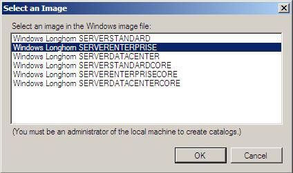 Unattended Server 2008 Base Image Creation using WSIM