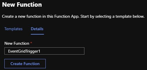Specify Function name