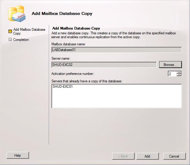 Exchange 2010 RTM DAG using Server 2008 R2 – Part 4 | Elan Shudnow\'s ...