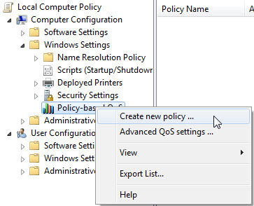 Enabling QoS for Lync Server 2013 and Various Clients – Part 1